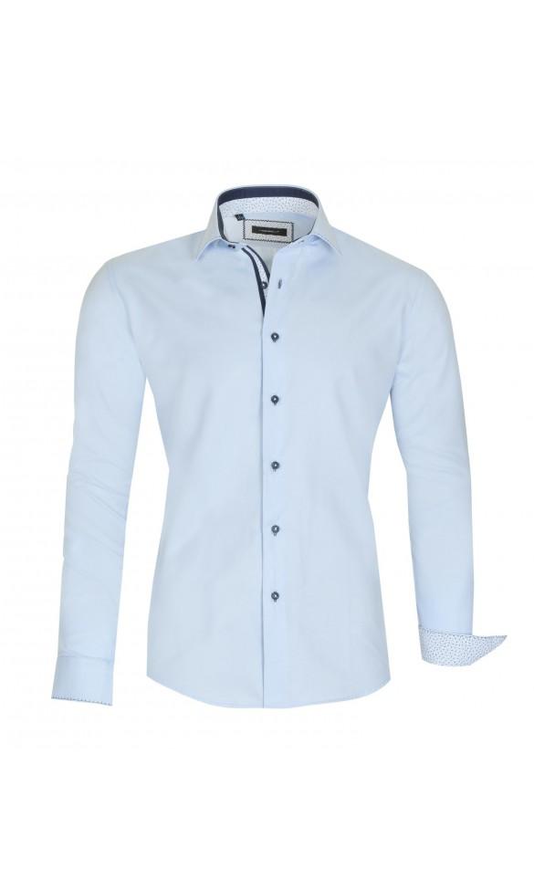 Koszula Pure Niebieska