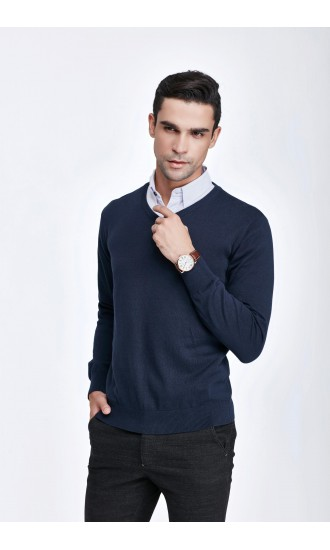 Sweter męski Serge Granatowy