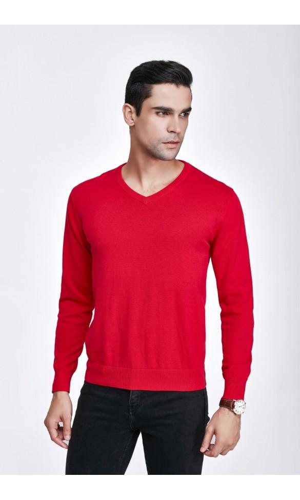 Sweter męski Serge Czerwony