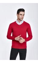 Sweter męski Serge Bordowy