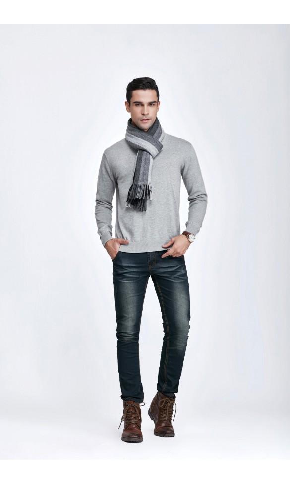 Sweter męski Serge Szary 2