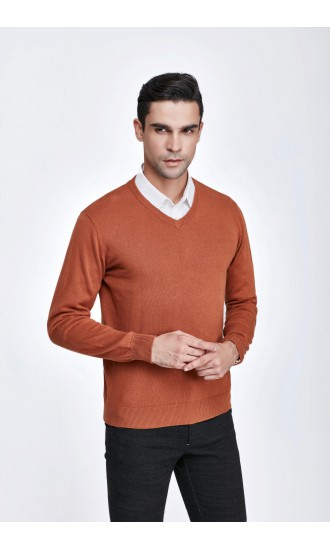 Sweter męski Serge Brązowy