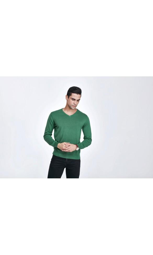 Sweter męski Serge Zielony 2