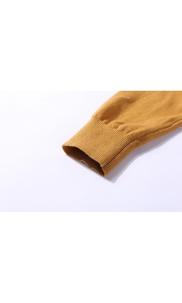 Sweter męski Serge Karmelowy