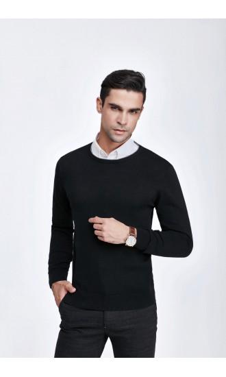 Sweter męski Victor Czarny