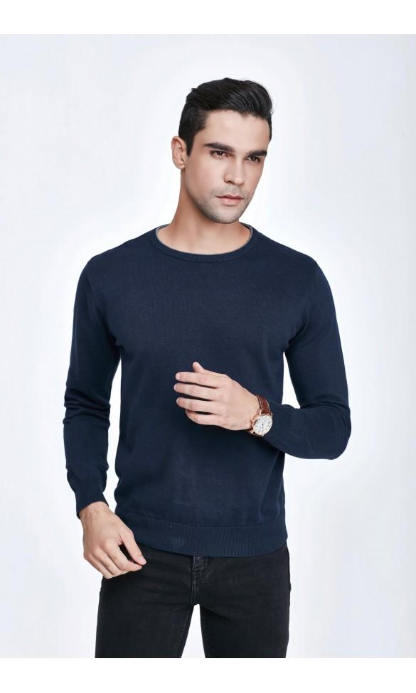 Sweter męski Victor Granatowy