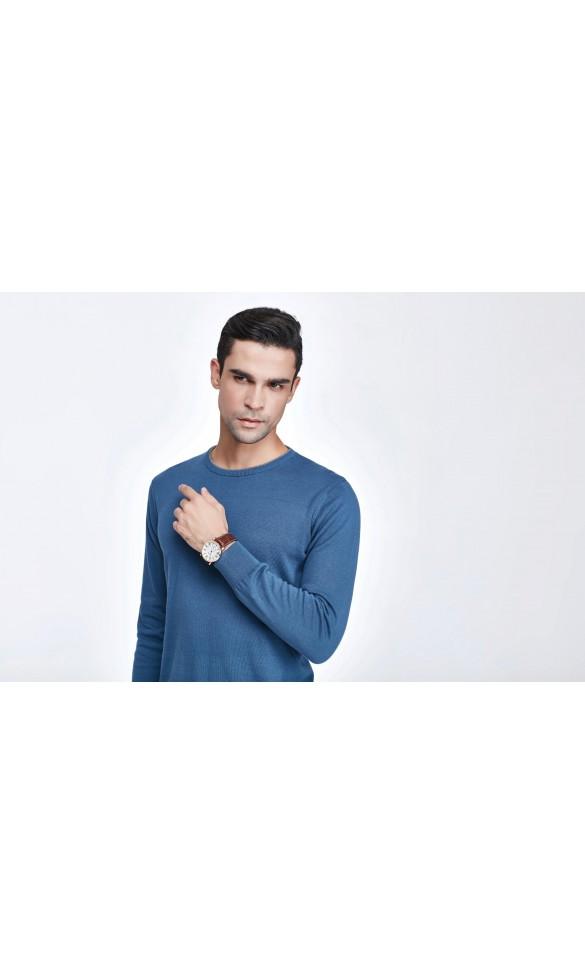 Sweter męski Victor Niebieski