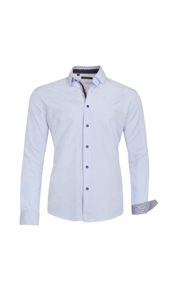Koszula Spots Błękitna