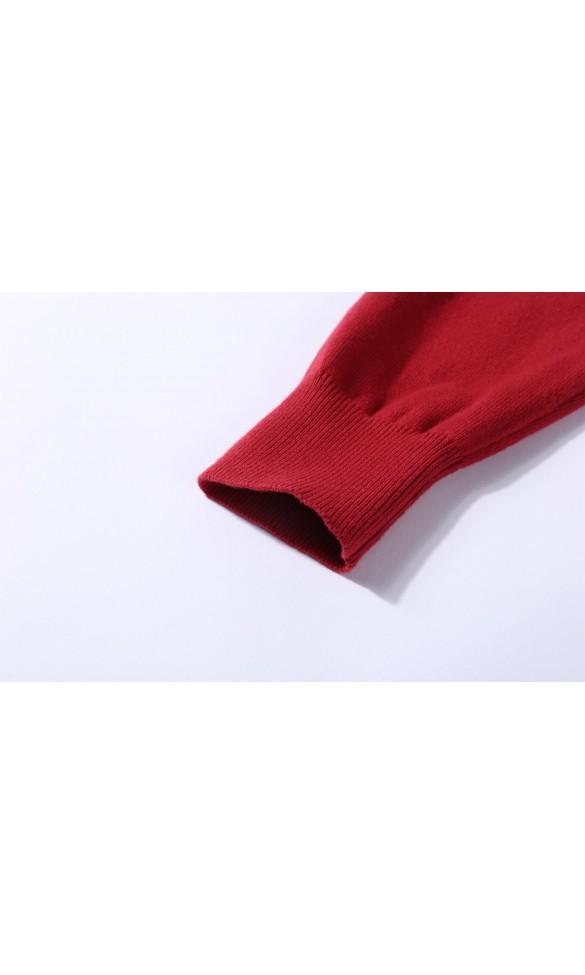 Sweter męski Victor Bordowy
