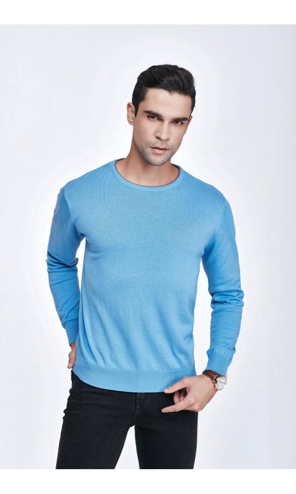 Sweter męski Victor Błękitny
