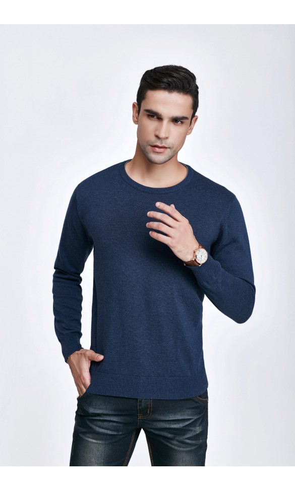 Sweter męski Victor Granatowy 2