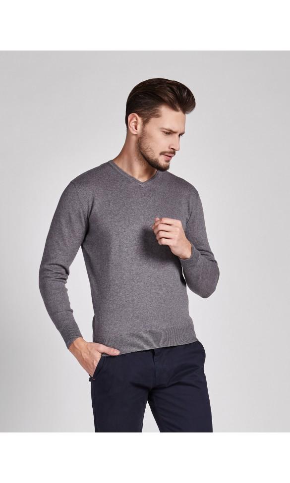 Sweter meski Tonny Popielaty