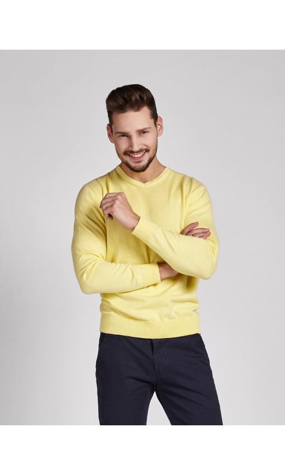 Sweter meski Tonny żółty