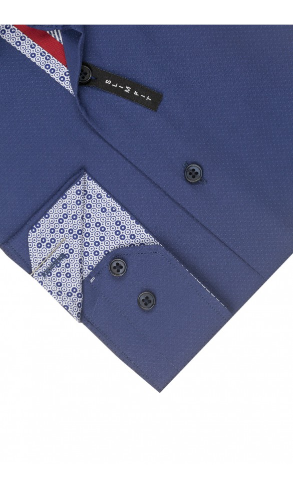Koszula Spots Granatowa