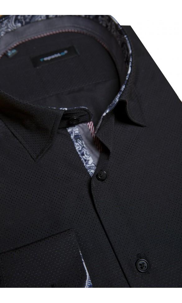 Koszula Spots Czarna