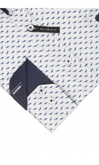 Koszula Selvage Shark Biała