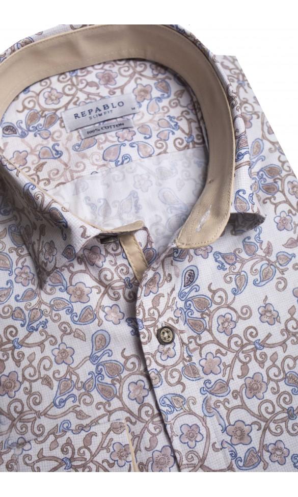 Koszula Urbano beżowa