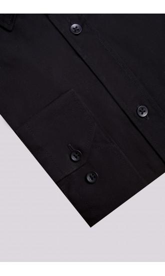 Koszula Comfort czarna Regular