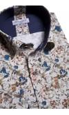 Koszula Sergio granatowa