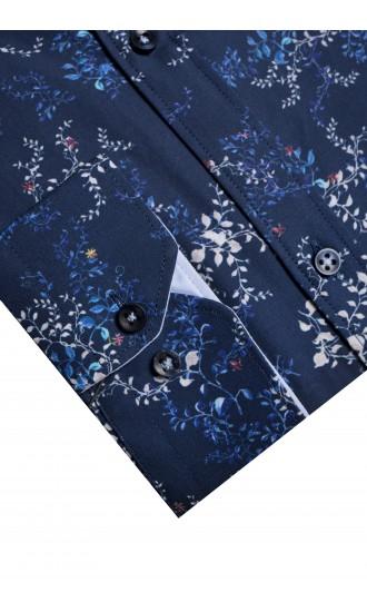 Koszula Sergio niebieska Reular