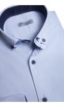 Koszula Aaron niebieska