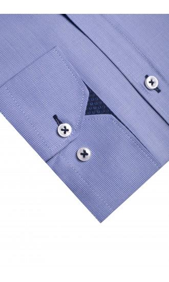 Koszula Baldwin niebieska