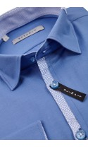 Koszula Fabio niebieska