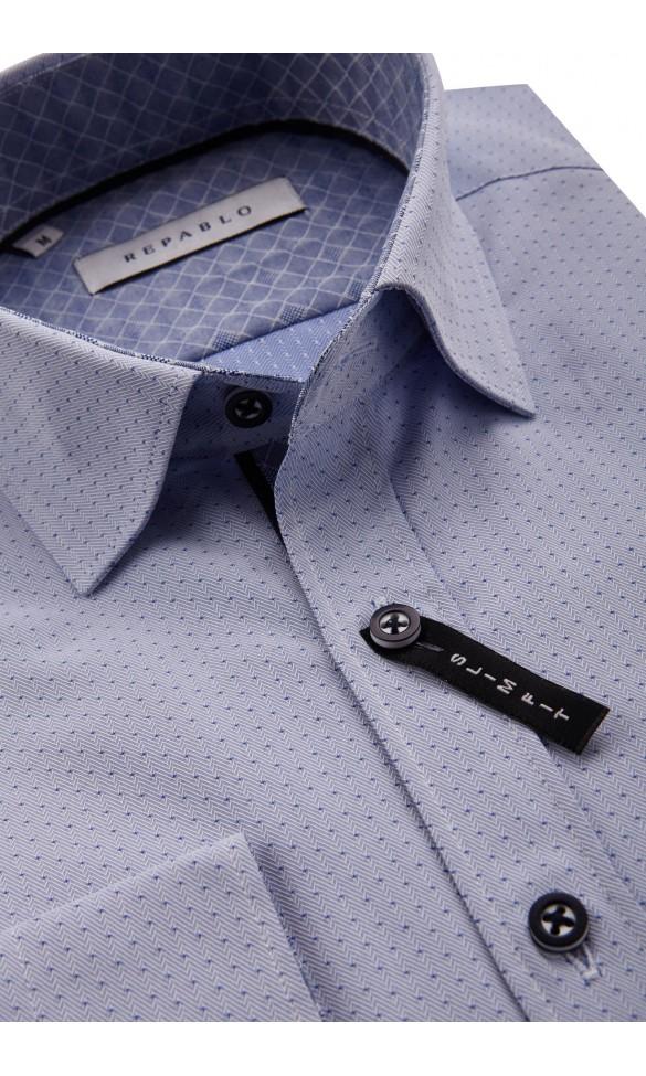 Koszula Leone błękitna
