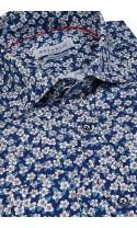 Koszula Prato Niebieska