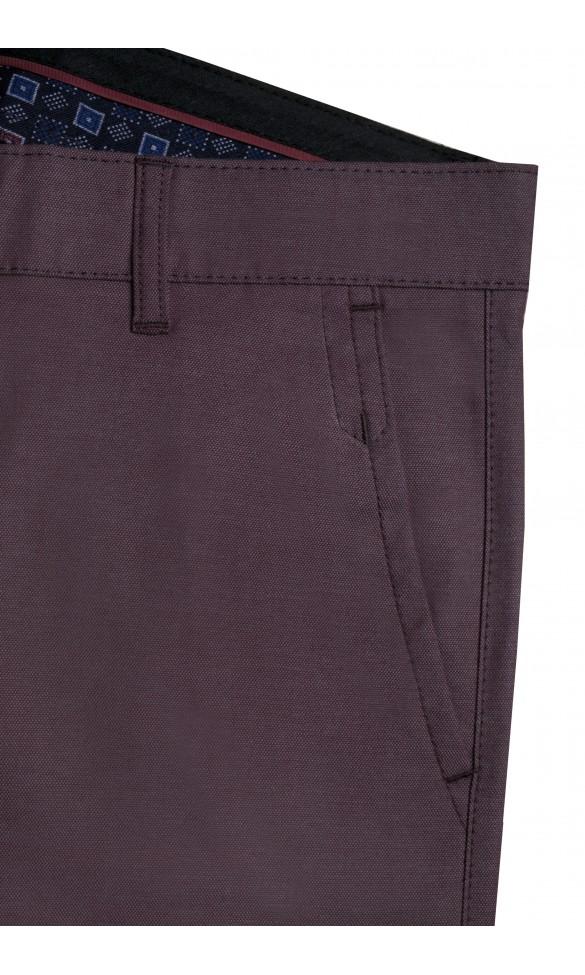 Spodnie męskie Emmanuel bordowe