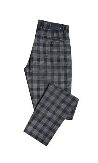Spodnie męskie Edwin szaro-czarne