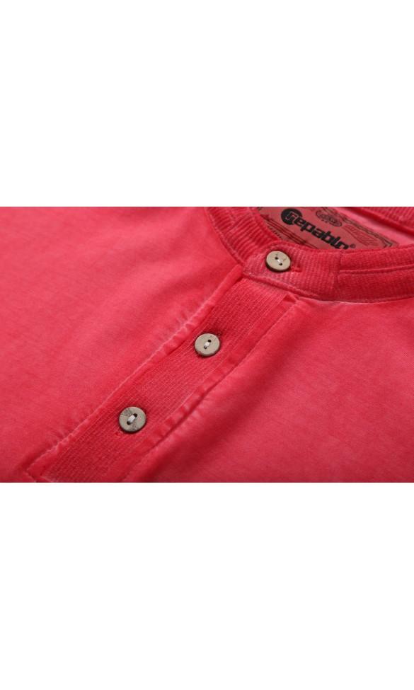 T-shirt męski Albert czerwony
