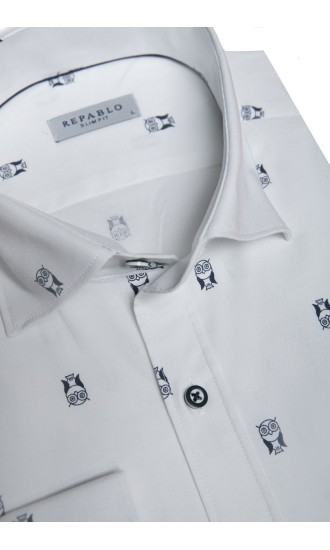 Koszula Owls biała