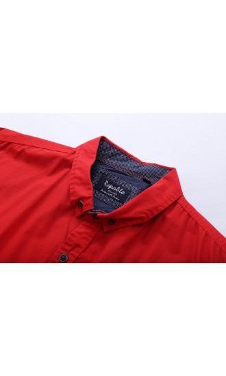 Koszula męska Adam czerwona
