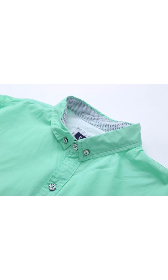 Koszula męska Adam zielona
