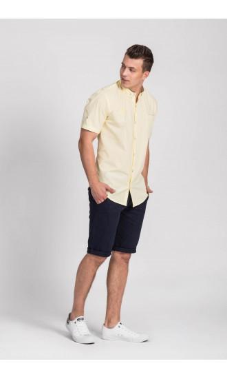 Koszula męska Adam żółta