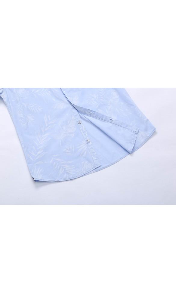 Koszula męska Basil błękitna