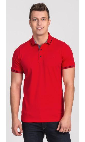 Polo męskie Simon czerwone