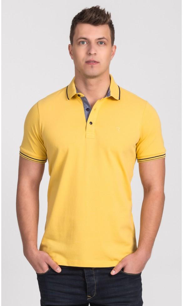 Polo męskie Simon żółte
