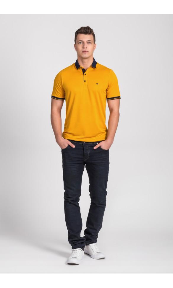 Polo męskie Leo żółte
