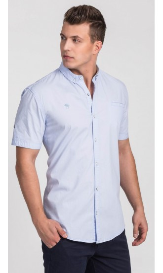 Koszula męska Adam błękitna