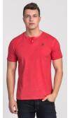 T-shirt męski Boris czerwony