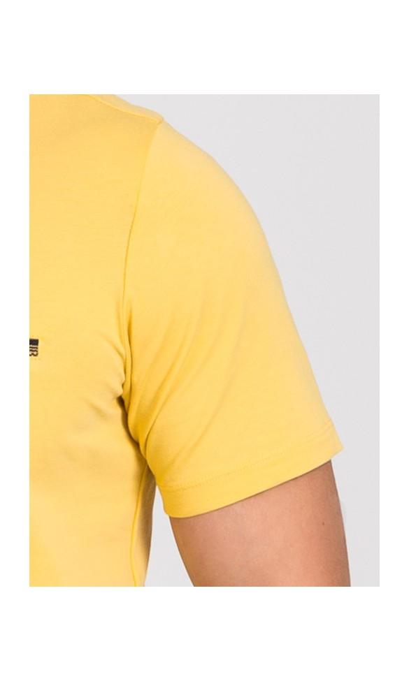 Polo męskie Zachary żółte