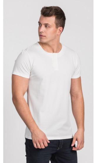 T-shirt męski Cecil écru