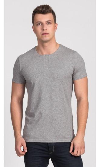 T-shirt męski Cecil szary