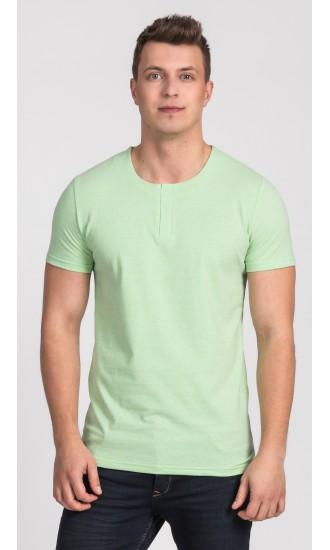 T-shirt męski Cecil zielony
