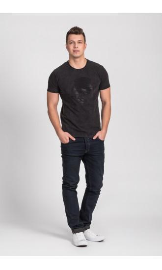 T-shirt męski Dave czarny