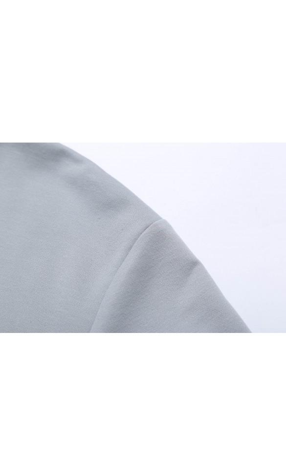 T-shirt męski long sleeve Martin szary