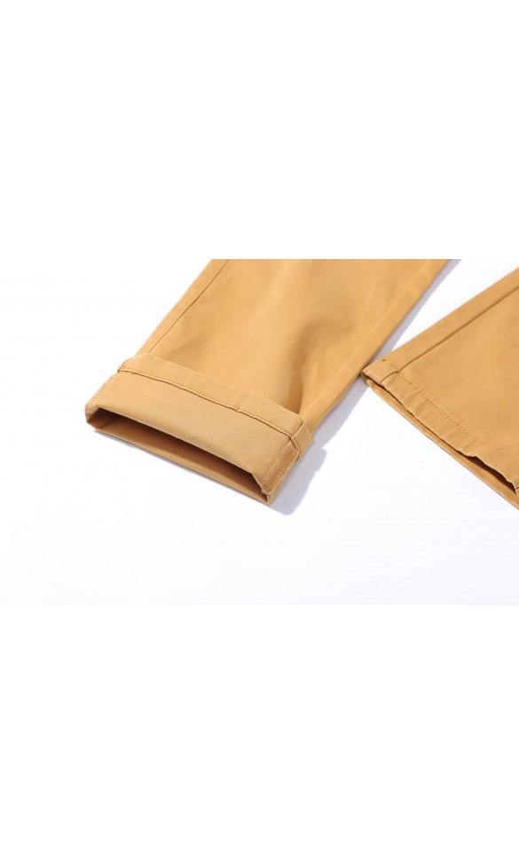 Spodnie męskie Julian musztardowe