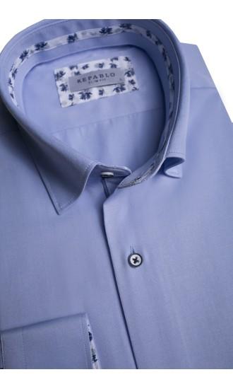 Koszula męska Conrad niebieska